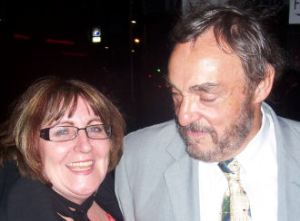 John Rhys-Davies and Jenny Fallon!
