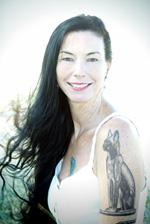 Author Kim Falconer