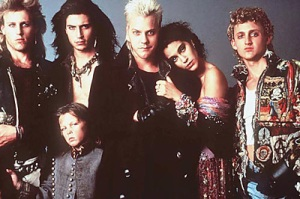 Keifer Sutherland is one of the Lost Boys 1986