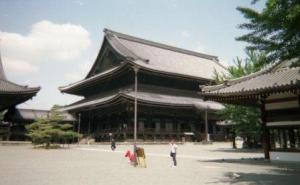 The temple at Kyoto