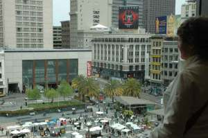 Union Square, where the NTA is located