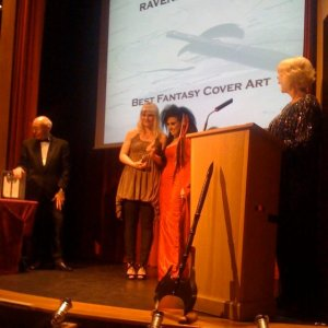 Ólöf Erla Einarsdóttir wins the Ravenheart Award
