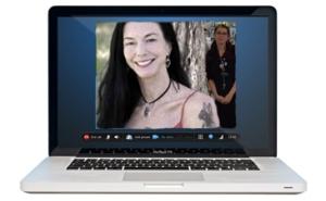 Kim on Skype